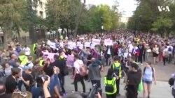 Акция за честные выборы в Москве