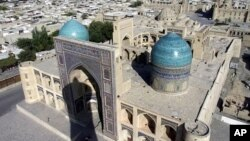 A view of Bukhara, Uzbekistan, Central Asia, one of the ancient cities sitting on the famed Silk Road. (File)