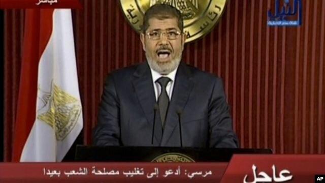Tổng thống Mohamed Morsi