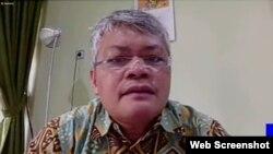 Anthonius Malau, pejabat di Kementerian Komunikasi dan Informatika (VOA)