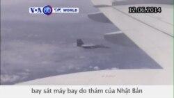 Chiến đấu cơ TQ bay sát máy bay do thám của Nhật (VOA60)