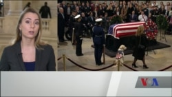Подробиці церемонії прощання із 41-м президентом США Джорджем Бушем-старшим. Відео