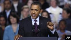 美国总统奥巴马11月22日在新罕布什尔州