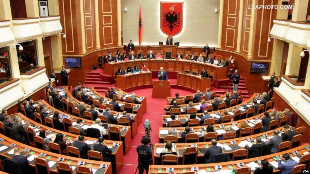 """Parlamenti  """"PO"""" anëtarësimit në Nato të Maqedonisë së Veriut"""