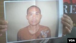 Foto Roki Aprisdianto, terpidana teroris kasus bom Klaten yang kabur dari Rutan Polda Metro Jaya.
