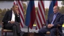 2013-06-18 美國之音視頻新聞: 奧巴馬和普京就敘利亞衝突問題舉行會晤