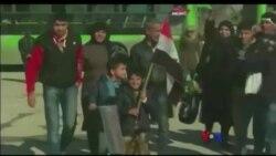 Aleppo ၿမိဳ႕နဲ႔ ေလေၾကာင္းထိုးစစ္
