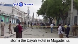 VOA60 Africa - Somalia: Militants kill scores of people in Mogadishu attack