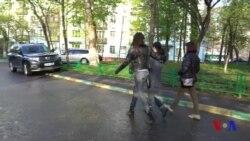 Moskvada uylar buzilishiga qarshi norozilik