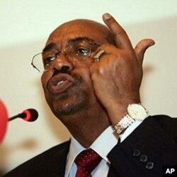 Sudanese President Omar al-Bashir (file)