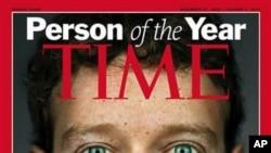 扎克伯格被时代周刊评为年度风云人物