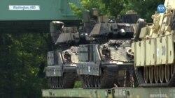 Trump Hayaline Kavuştu Askeri Tanklar Washington'da