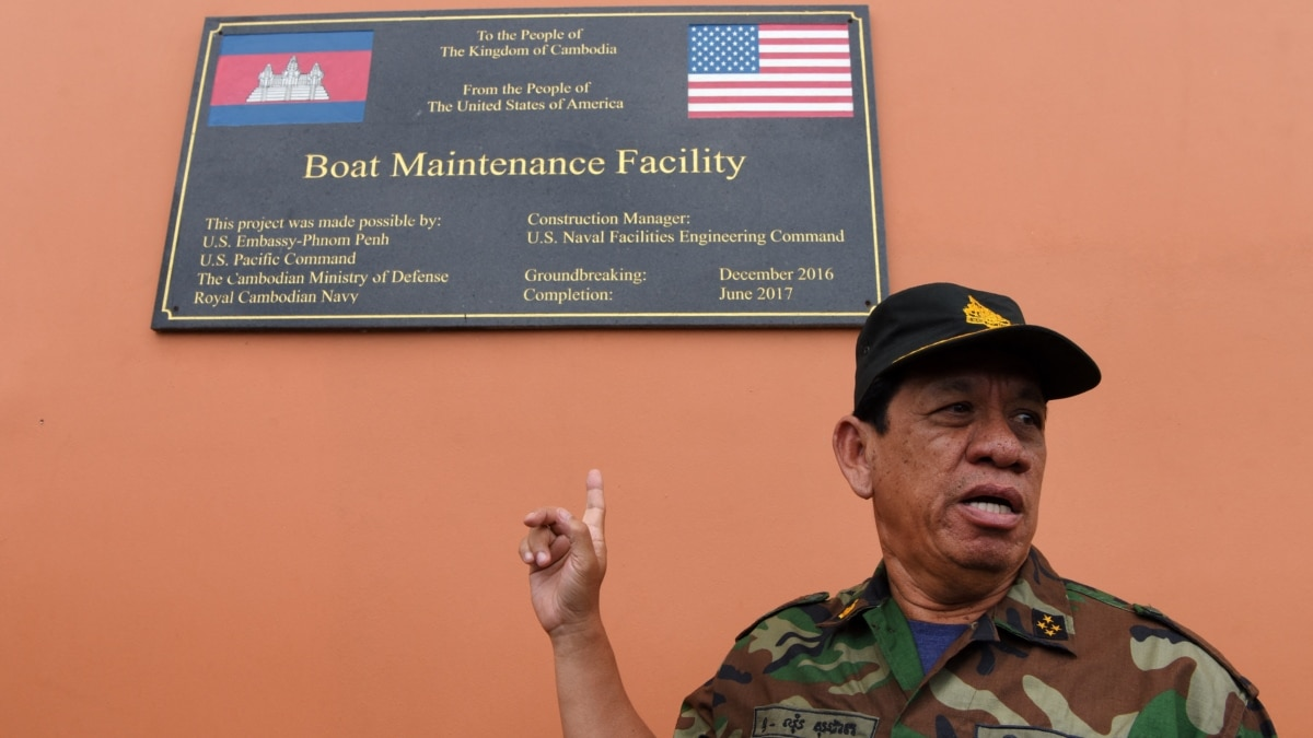 US Says Cambodia Not Transparent About Chinese Role in Naval Base Construction
