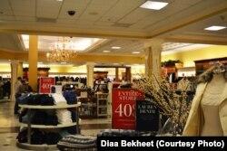 Крамниця Polo, Ralph Lauren, у Вірджинії пропонує великі знижки