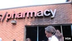 La farmacia CVS que fue quemada durante los disturbios tras la muerte de Freddy Gray, en abril.