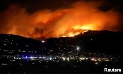 Пожежа «Кемерон Пік» в Колорадо, жовтень 2020 року