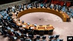 지난 23일 미국 뉴욕 유엔본부에서 열린 안전보장이사회 전경. (자료사진)