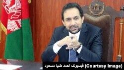 ضیا مسعود بیشتر از دو سال نمایندهء رئیس جمهور غنی در امور حکومتداری بود