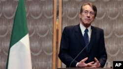 Italijanski ministar inostranih poslova Đulio Terci