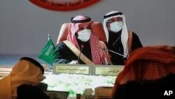 محمد بن سلمان ولیعهد سعودی که در نشست دو ماه پیش شورای همکاری خلیج فارس به عنوان نماینده عربستان شرکت کرده بود- عکس آرشیو