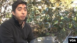 Undocumented immigrant Emmanuel studies at the tuition-free University of the People