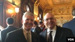 Bivši ambasador SAD u Srbiji Kajl Skot i v.d.pomoćnika državnog sekretara zadužen za Balkan Filip Riker