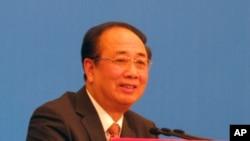 中国全国政协发言人赵启正(资料照片)