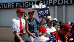 Trump'ın 31 Temmuz'da Florida'ya yaptığı kampanya ziyareti