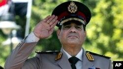 埃及前軍隊總司令塞西將軍。