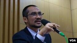 Ketua Komisi Pemberantasan Korupsi (KPK) Abraham Samad (VOA/Andylala Waluyo)
