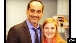 Claudia Lockwood, Public Relations Intern, had the opportunity to meet Navid Negahban, an actor from the hit TV show Homeland.