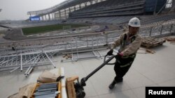 The Incheon Asiad Main Stadium is being built for the 17th Asian Games to be held in Incheon from Sept. 19 to Oct. 4, 2014. Vietnam has decided not to host the 2019 Asian Games.