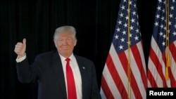 Donald Trump en campagne à Warwick, Rhode Island, le 25 avril 2016