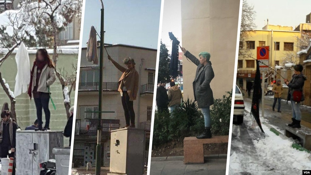 Risultati immagini per دختران خیابان انقلاب