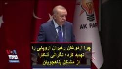 چرا اردوغان رهبران اروپایی را تهدید کرد؛ نگرانی آنکارا از مشکل پناهجویان