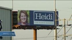 Az Nüfuslu Kuzey Dakota'da Yoğun Seçim Kampanyası