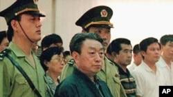 六四事件时的北京市市长陈希同。(资料照片)