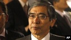 Thống đốc Ngân hàng Trung ương Nhật Bản Haruhiko Kuroda