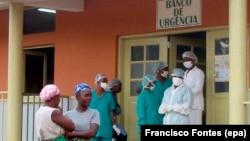 Banco de urgência do hospital do Uíge, Angola (Foto de Arquivo)