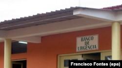 (imagem de arquivo) Banco de urgência do hospital do Uíge, Angola