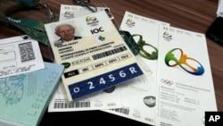 Dokumenta koja pripadaju Petriku Hikiju, članu Međunarodnog olimpijskog komiteta