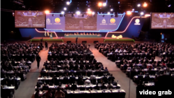 Zasedanje Generalne skupštine Interpola, u Dubaiju, 20. novembra 2018.