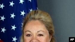제네바 주재 미국 대표부의 에일린 챔버레인 도나휴 유엔 인권담당 대사