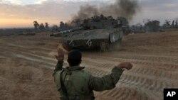 Izraelske snage na granici sa Gazom