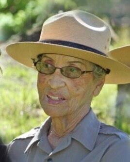 Betty Reid Soskin, 92, who witnessed Richmond's unique history firsthand, is the oldest ranger in the U.S. Park Service. (US Park Service)