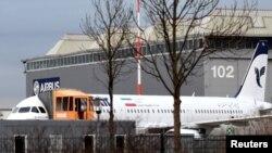 هواپیمای آماده تحویل به ایران در پارکینگ ایرباس در آلمان