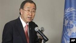 Sekjen PBB Ban Ki-moon mengungkapkan kekesalannya terhadap kurangnya dukungan internasional terhadap para korban kemanusiaan akibat konflik Suriah (foto: dok).