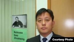 劉衛國律師(圖片來源:劉衛國推特)