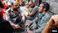 برخی از کارگران می گویند که معدن ایمن نبود.