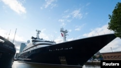 A luxury yacht called Octopus, owned by Microsoft co-founder Paul Allen.